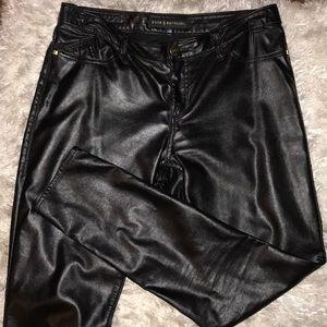 Rock & Republic pleather pants